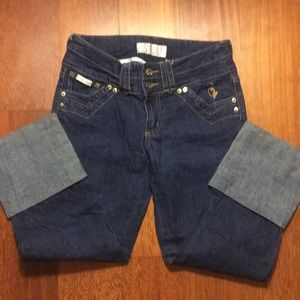 VINTAGE BABY PHAT 3/4 length jeans